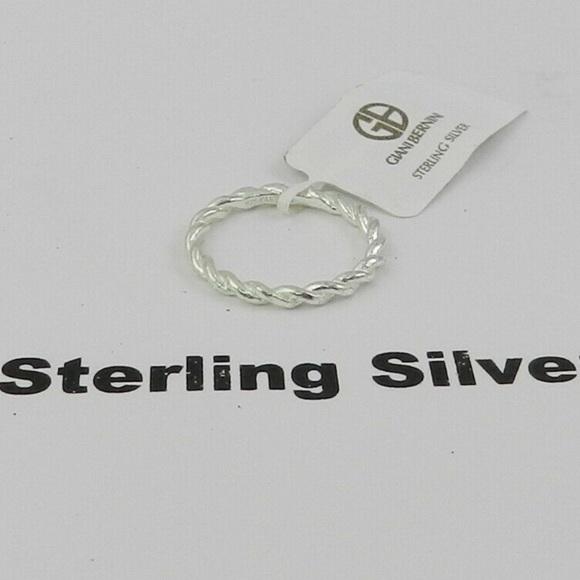 Sterling Giani Bernini Band Ring